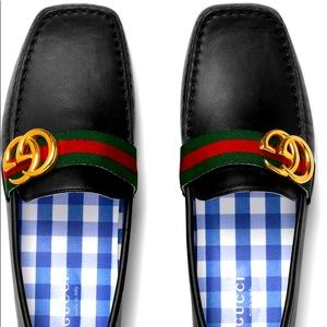 Gucci Noel GG children loafers driver G32/1 US